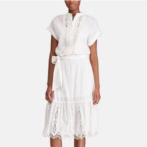 Lauren Ralph Lauren Waneta Cotton Eyelet Dress